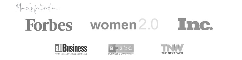 Monica Snyder is Featured in Forbes, Women 2.0, Inc., allBusiness, B2C, & The Next Web